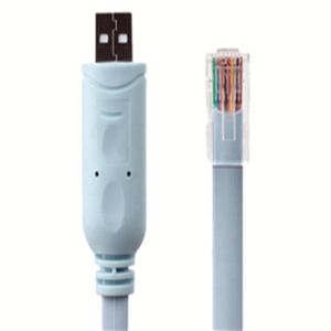 Customized High Quality 6Ft 1.8M FTDI USB RS232 to RJ45 Serial Console Cable with FT232RL Chipset