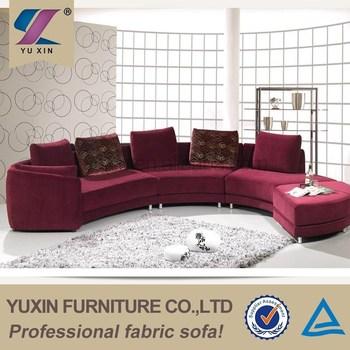 Cheap Modern Round Hotel Lobby Design Furniture Sofa Lounge