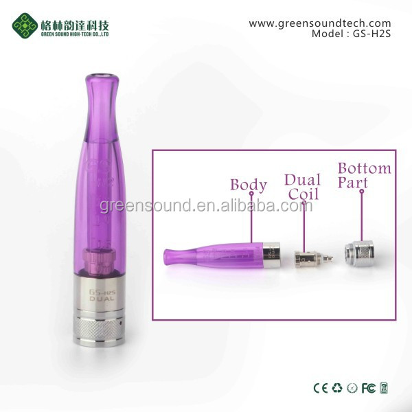 China wholesale h2s clearomizer vaporizer pen wholesale h2s atomizer