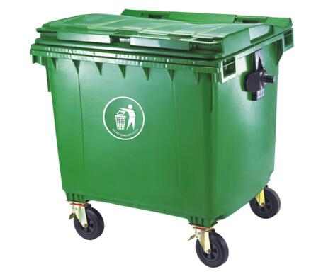 Besar Luar Limbah Keranjang Sampah Plastik Dengan 4 Roda Untuk Industri Umum Dan Jalan Buy Keranjang Sampahsampah Plastik Besar Dengan Rodasampah