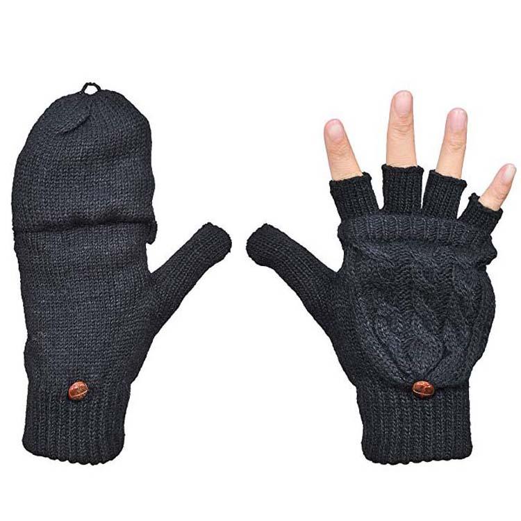 guantes de punto para ni/ños calientamanos guantes de invierno resistentes al viento esqu/ís guantes de invierno ITODA Guantes de invierno para ni/ña guantes de lana para el tiempo libre