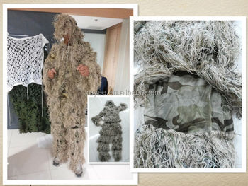 3feda0692a773 snow ghillie suits for hunting, camouflage clothing ghillie suit, camo net ghillie  suit,