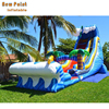 Wavy Commercial Rentals Prices Inflatable Water Slides For Summer