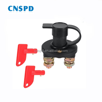 12V 24V 100A car marine boat van truck battery disconnect cut off isolator switch