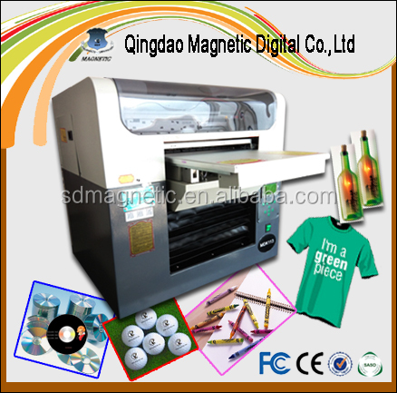 Direct to garment DTG printer 8 color to print FULL color t shirt with FREE RIP provided
