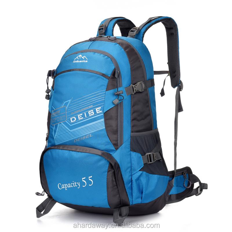 waterproof trekking bag 600d polyester backpack