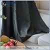 Quick Delivery Living Room faux silk blackout flame-retardant curtain fabric