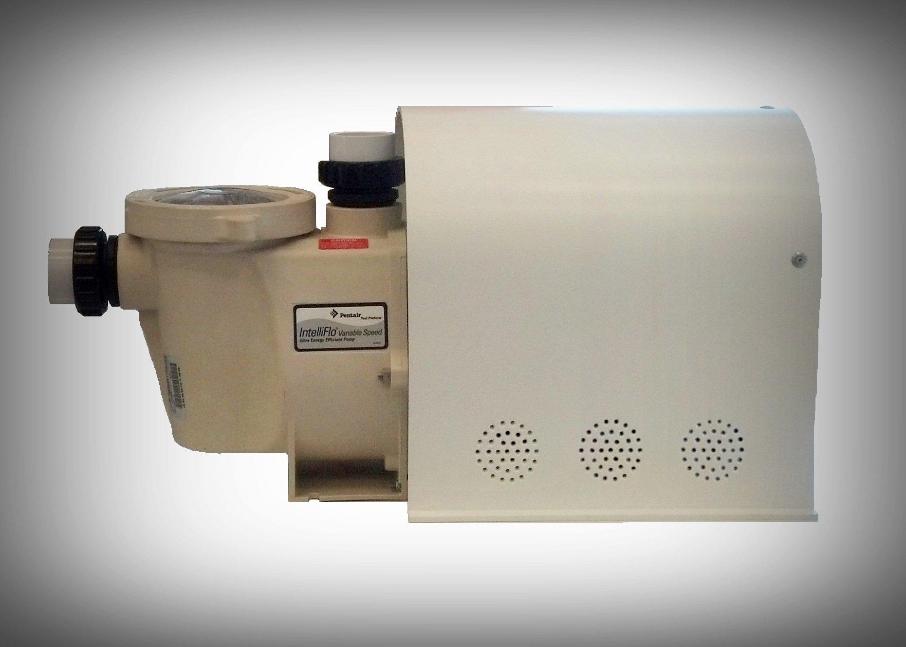 Pentair Intelliflo Pump Motor Cover - Variable Speed Pool Pump Motor/Drive Cover - Outdoor