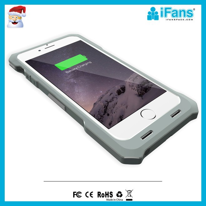 Backup battery case for iPhone6 with MFi 2500mAh 3500mAh