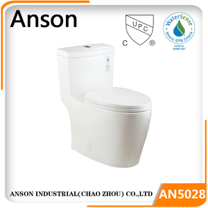 Toto design Sanitary ware cheap price Siphonic Elongated Bowl cUPC and Watersense Approval Siphonic upc one piece toilets