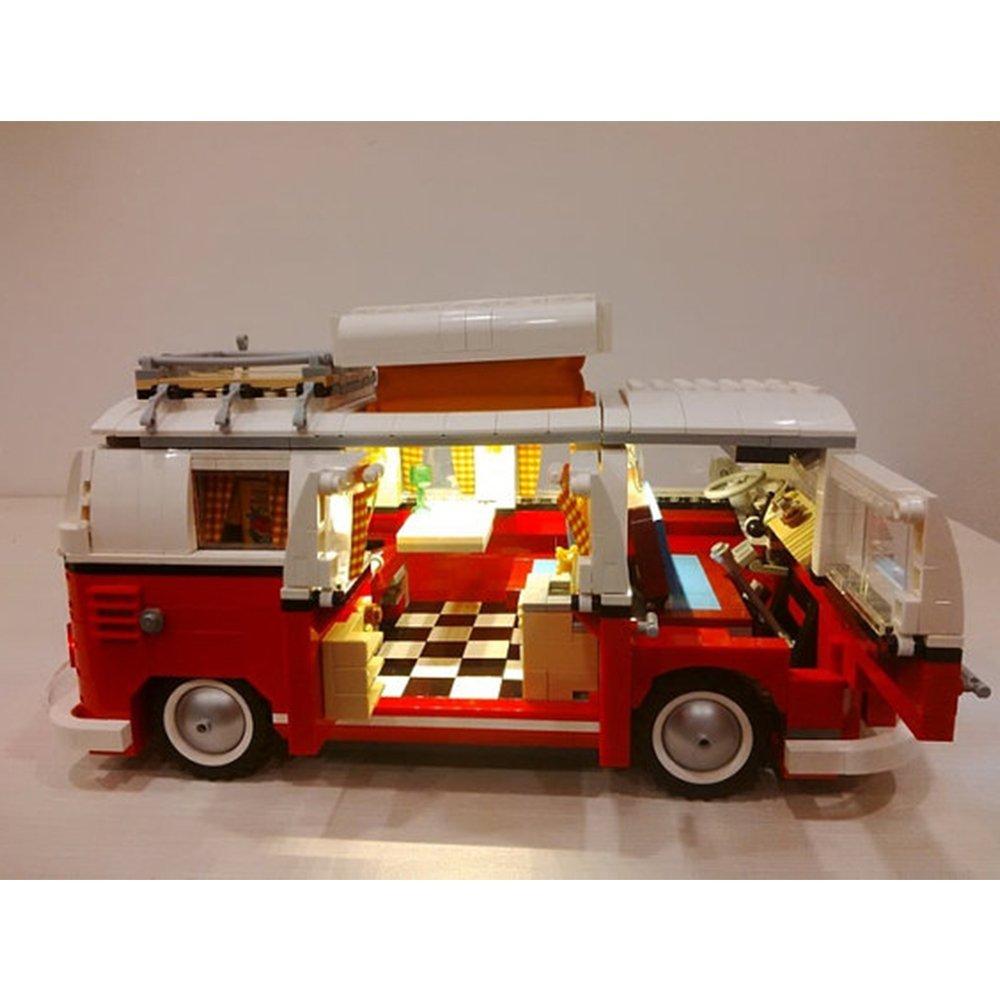 Buy Volkswagen T1 Camper Van Lighting Kit For Lego 10220 Set Lego