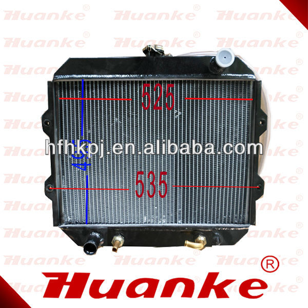 Forklift Parts Engine Cooling System Mitsubishi S4S Engine Forklift Radiator for Mitsubishi Forklift Automatic Transmission