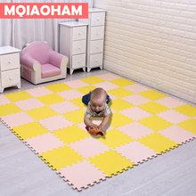 MQIAOHAM детский коврик-пазл из вспененного этилвинилацетата, 18 шт. в упаковке(Китай)
