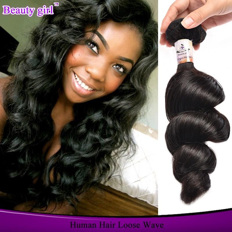 Wholesale Cheap Virgin Brazilian Loose Wave Bundles Adore Hair Color