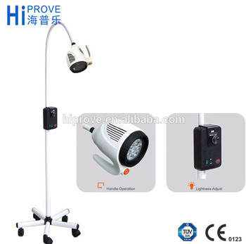 Dental 21W LED Surgical Medical Movable Exam Lamp ENT DC Power Examination  Light