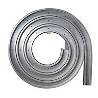 China Latest Design Low Price Shutter Rolling Gate Metal High Speed Spiral Door