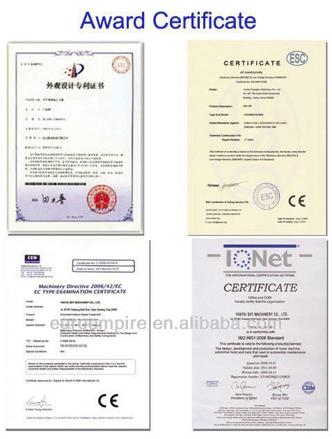 2015 New Product Alibaba China Supplier Ce Approved 4000lbs Car ...