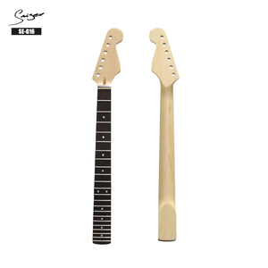 china factory wholesale custom unfinished maple electric guitar DIY kit neck