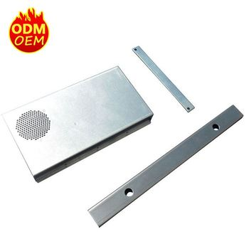 Custom aluminum sheet metal battery box for industrial control power supply