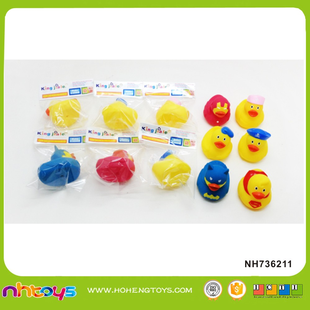 Mini yellow rubber duck toy