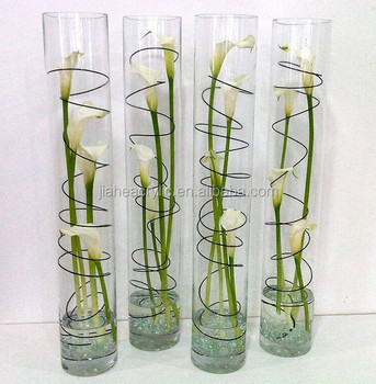 Slim Cylinder Acrylic Restaurant Table Flower Vase Buy Restaurant Table Flower Vase Stylish