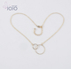 Wholesale fashion simple gold chain fancy long chain necklace fashion jewelry for women online shop china