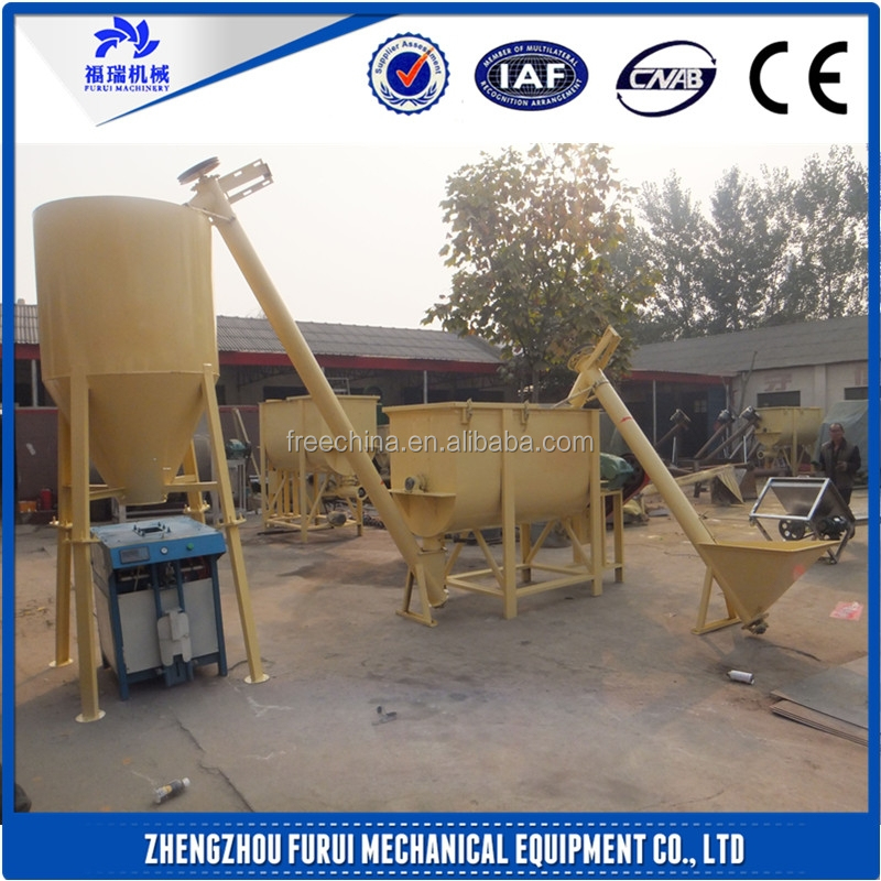 2015 Hot sale stainless steel dry mix mortar/dry mortar production line