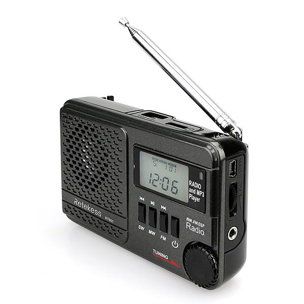 non inclus Mini radio portable num/érique radio de poche radio AM Radio FM r/écepteur avec antenne t/élescopique aliment/é par 2 x AA