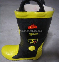 Rubber long Fireman Boots