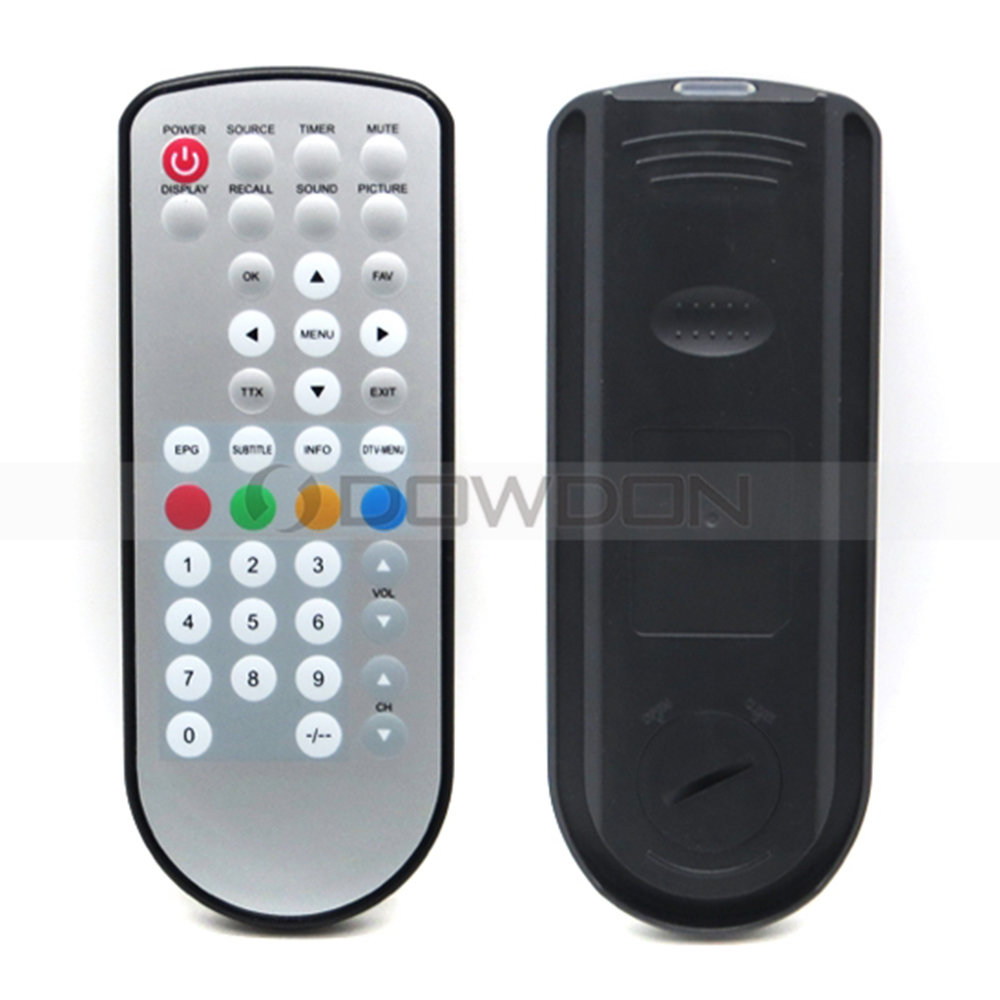 Universal Waterproof Remote Control Touch Keypad IR Remote Control for Light Computer Projector TV Set Controller