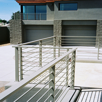 Modern Design Iron Grill Design For Terrace Steel Railing