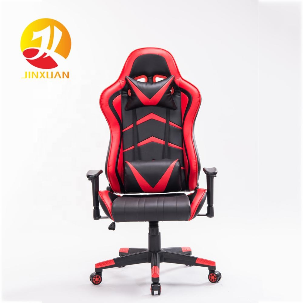 Outstanding Gaming Chair Large Size Real Pu Leather High Back Comfortable Pc Racing Computer Office Chair Bed With Lumbar Support Headrest Buy Gaming Lamtechconsult Wood Chair Design Ideas Lamtechconsultcom
