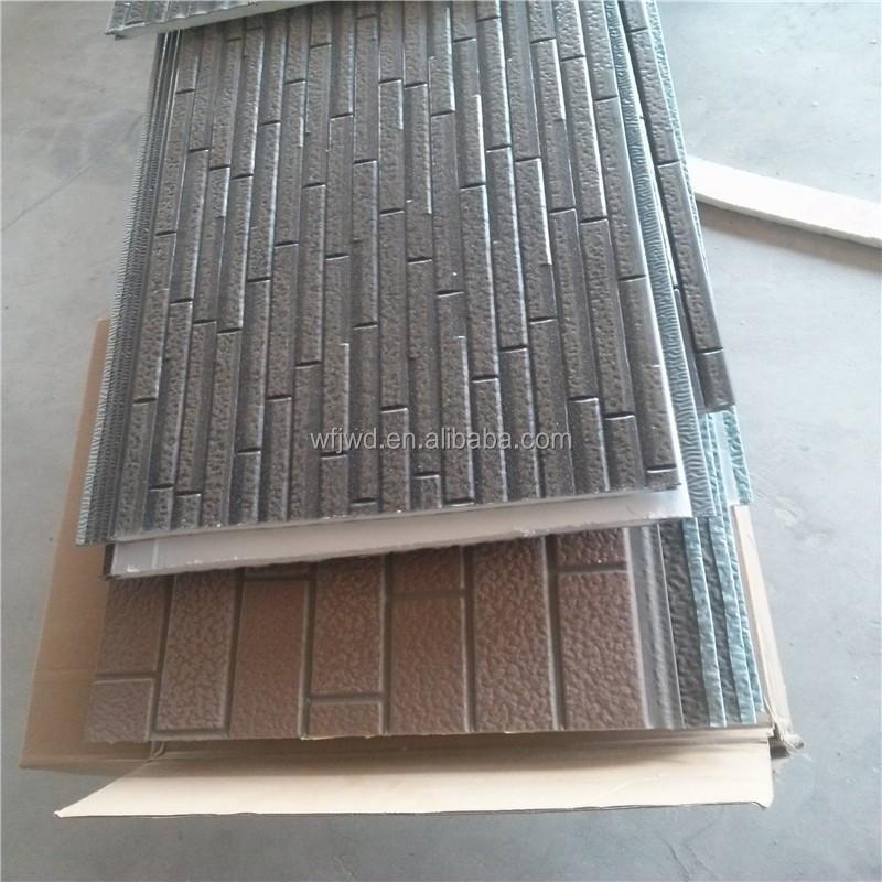 panneau de mur ext rieur pierre style polyur thane panneau sandwich rev tement panneau mural. Black Bedroom Furniture Sets. Home Design Ideas