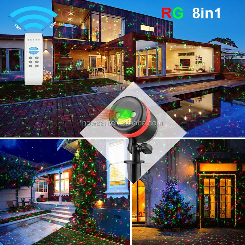 outdoor lazer light decoration motion sensor shower laser projector christmas - Christmas Motion Lights