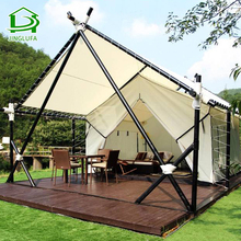 Prefab Overwater Huis Hotel Building Dome Camping Over Water Villa Outdoor Resort Tent