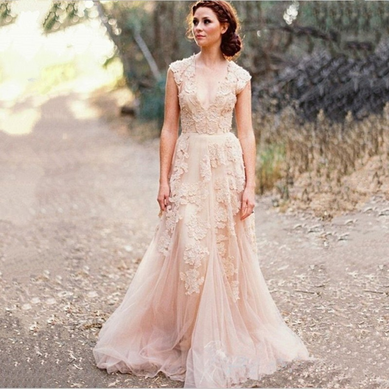 Bohemian Wedding Dresses Plus Size
