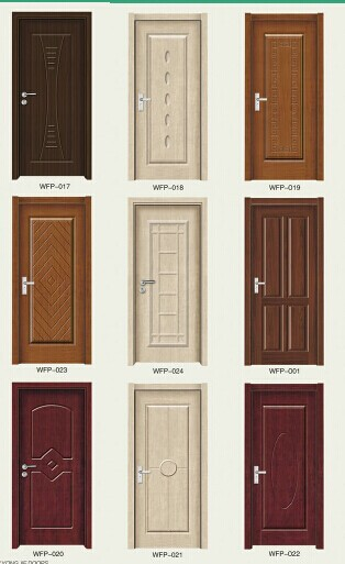 Bathroom Doors Plastic 2014 new design wooden doors pvc bathroom plastic door pvc door