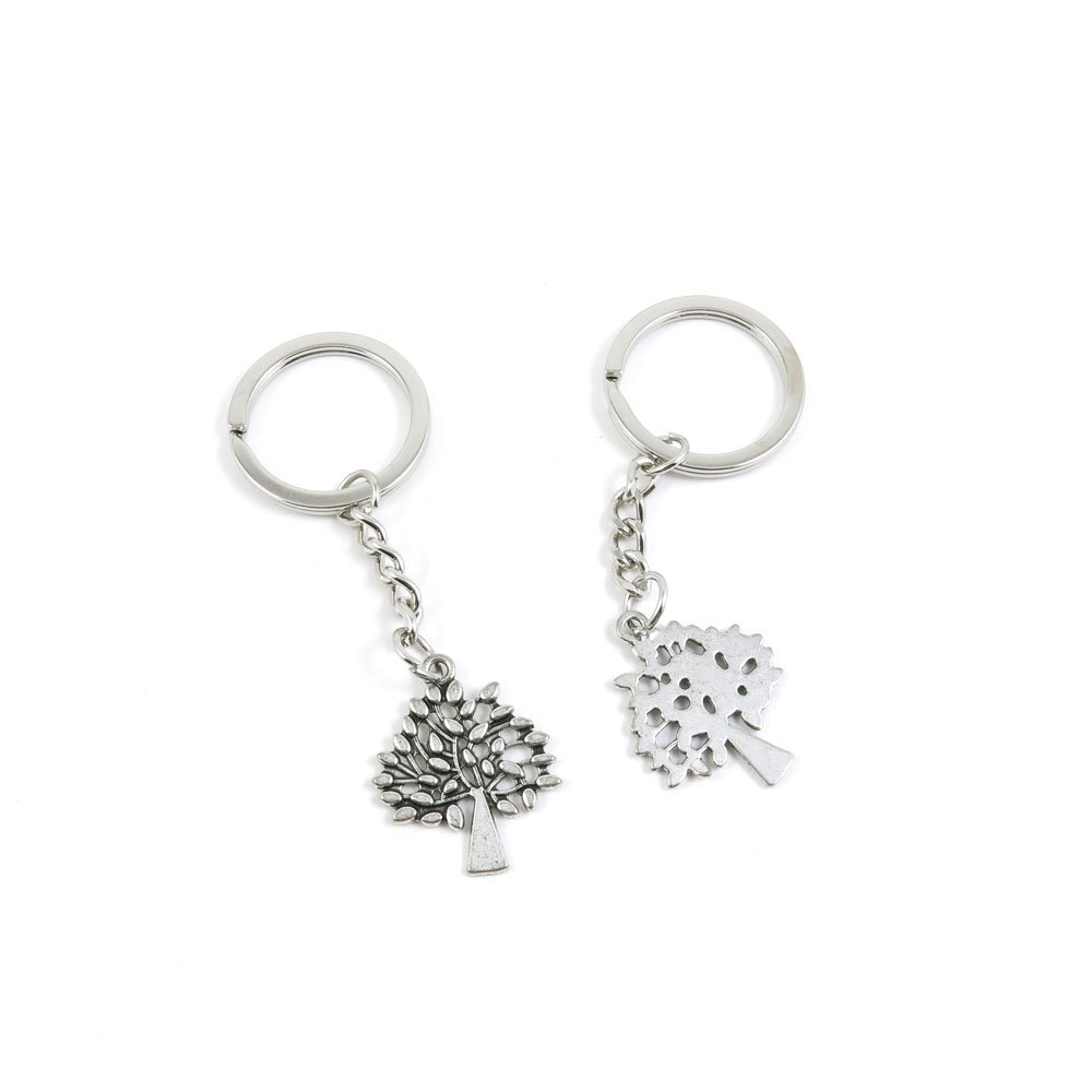 100 Pieces Keychain Door Car Key Chain Tags Keyring Ring Chain Keychain Supplies Antique Silver Tone Wholesale Bulk Lots V9UC1 Turtle Tortoise