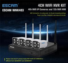 ESCAM viewerframe mode refresh network camera h.264 wifi 4CH nvr kits low power wifi ip camera