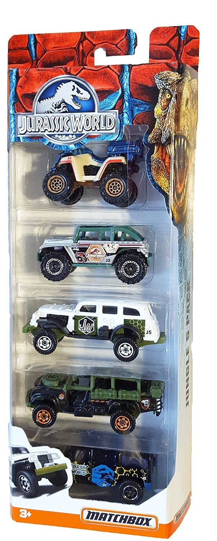 Matchbox - 2015 Jurassic World - Jungle 5 Pack