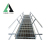 Galvanized steel grating step ladder