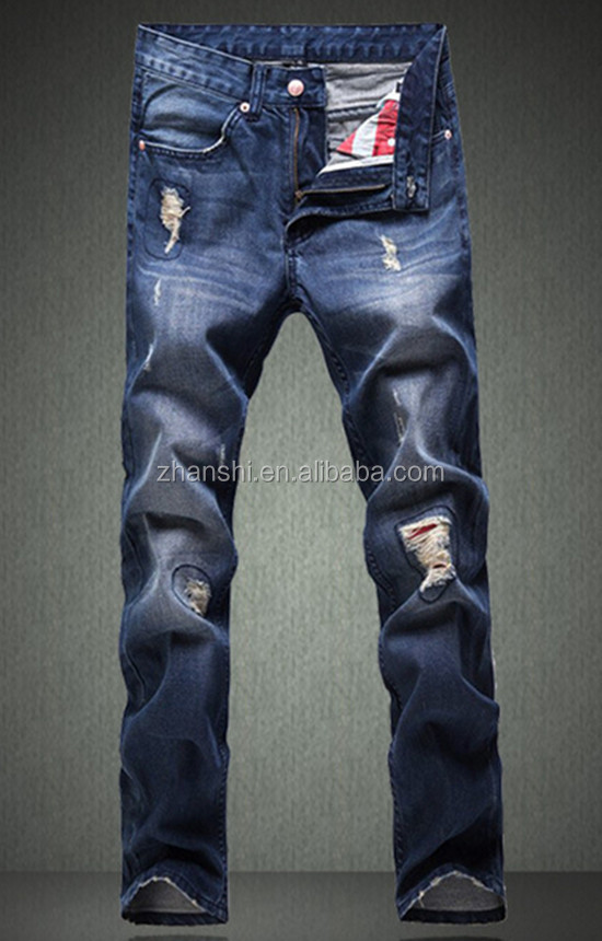 Hot Sell Brand Name Latest Ripped Jeans For Young Men Buy High Quality Men's Ripped Jeans,Top Brand Name Jeans,Wholesale Motorcycle Jeans Men