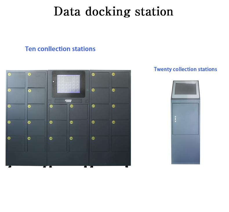 Win7 XP Draadloze Body Camera Docking Station 12 Poort met Management Systeem D05