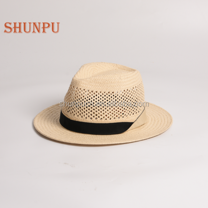 a5e9be15d New Design Hollow Out Breathable Panama Straw Hat - Buy Straw Hat ...