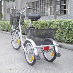 Trade Assurance electric cargo tricycle bike 3 wheel for adult