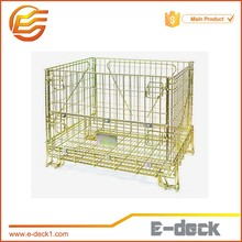 Evergreat collapsible pallet wire mesh cage wire mesh container