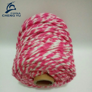 2017 hot selling recycled cotton rope for mop