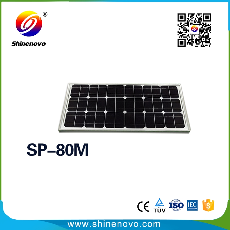 Chinese factory 80w solar cell price