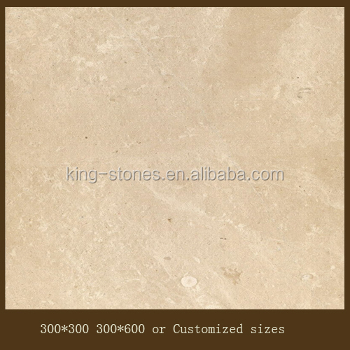 High quality polished italian cream marble