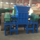 Tire shredding machine for waste car and truck tyre